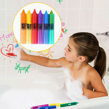 6Pc Baby Kids Paint Pen Shower Bathroom Bath Painting Pen Educational Toys Game