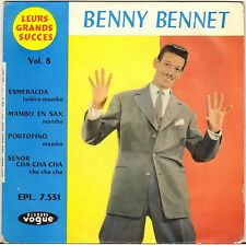 "BENNY BENNET ""MAMBO EN SAX"" LATIN JAZZ 60'S EP VOGUE 7.531"