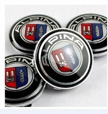 x4 ALPINA Alloy Wheel Badges Center HUB Caps 68mm BMW E36 E39 E46 E60 F01 F10 X5