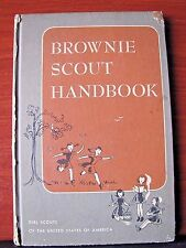 Brownie Scout Handbook - 1951 hardcover - Girl Scout of America