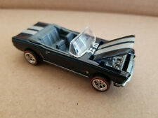 2011 Hot Wheels Garage 65 FORD MUSTANG CONVERTIBLE 15/20 Ford DARK BLUE Loose