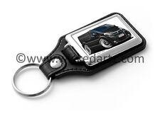 WickedKarz Cartoon Car Vauxhall Vivaro Van in Black Key Ring