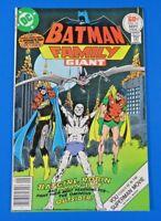 BATMAN FAMILY #13 ~ 1977 DC Comic Book ~ Batgirl robin & Man-Bat ~ VF-
