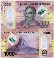 Angola 1000 Kwanzas 2020 P NEW Polymer UNC