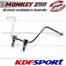 KDF HANDLEBAR HOLDER CLAMP HANDEL BAR RAISER STEEL 50 FOR HONDA MONKEY Z50J Z50