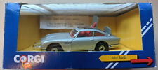 JAMES BOND 007 ASTON MARTIN DB5 Silver Die-Cast Car CORGI C271/1 ORIGINAL BOX