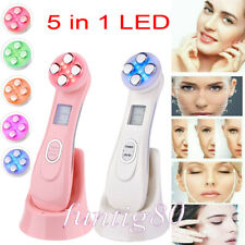 5 in 1 LED Skin Tightening Facial Light Whitening Acne Photon Wrinkle Remover