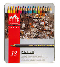 Caran d'Ache PABLO Farbstifte, 18-er Metalletui, 0666.318, NEU&OVP