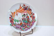 Bjorn Wiinblad Big 13'' Plate Commedia Dell Arte Rosenthal Vintage