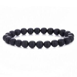 8mm Tiger Eye Lava Moonstone Dollar Money $ Beads Bracelet For Men Women Jewelry