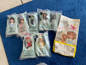 Lot Of 7 2007 McDonalds Happy Meal Toy Madame Alexander The Wizard of Oz 123567