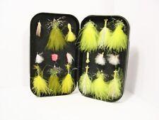 Wheatley Foam Lined Fly Box & Reservoir Trout Flies