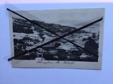 Antique vintage photo postcard Albany from Mt Melville black white photograph