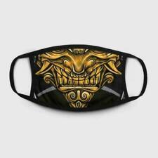 Oni Demon FaceMask, Japanese Demon 3D Cotton FaceMask