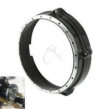 """7"""" Headlight Bezel Trim Ring For BMW R Nine T 2014-2017 Aluminum"""