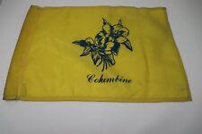 New listing Columbine Golf Flag Yellow Country Club Flower Vintage