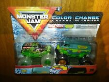 2021 Monster Jam Color Change GRAVE DIGGER & THE MYSTERY MACHINE VHTF RARE New