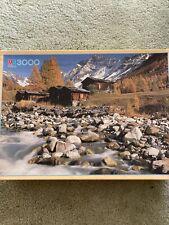 Mb 3000 Piece Jigsaw Puzzle Wallis-lotschental Switzerland