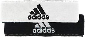 Adidas Reversible Headband Sweatband Tennis Running Training Cotton Womens Mens