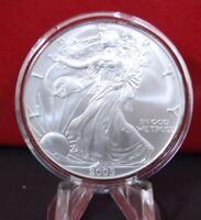 2005 Silver American Eagle Coin BU 1 oz $1 Dollar Uncirculated U.S. Mint Capsule