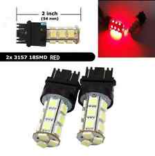 3157 T25 Red LED Tail Brake Turn Signal Light Bulbs for Ford F-150 1990-2017