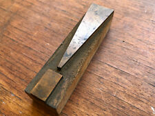 Antique Letterpress Wood Type Printers Block Beautiful Exclamation Point