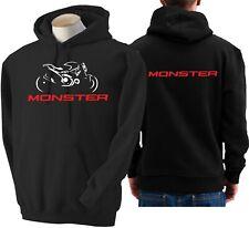 Felpa moto DUCATI MONSTER 821 hoodie sweatshirt bike hoody Hooded sweater