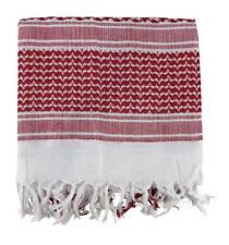 Shemagh Rojo y blanco UK Pañuelo palestino militar táctico complemento casual