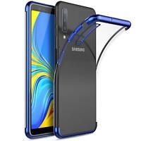 Slim Cover für Samsung Galaxy A50 Hülle Silikon Handy Tasche Schutzhülle Case