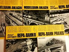 MIBA REPORT 1 - 5 REPA - BAHN SEHR GUTER ZUSTAND