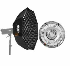 Godox Octagon 95cm Grid Honeycomb Softbox Bowens Mount for Studio Strobe Flash