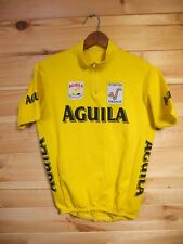 VIntage Aguila Vuelta Espana 1995 Cycling Jersey Large Top Shirt