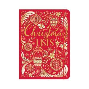 Rachel Ellen Christmas List Sticky Note Planner and Organiser - Xmas Planner