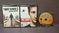 Tony Hawk's 3 Game Lot for Sony PlayStation 2 PS2 Proving Ground, 4, Project 8