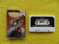 * new * OCTAGON SQUAD - by mastertronic - msx cassette