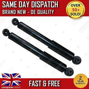 VAUXHALL ASTRA H MK5 2004>2010 REAR SHOCK ABSORBERS PAIR X2