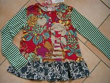 (233) NOLITA POCKET Girls mix di materiali Shirt Logo & Ragazza Glitter Stampa gr.140