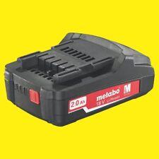Metabo ORIGINALE RICAMBIO Li batteria 18 VOLT 2,0 Ah BS PORTA DISPOSITIVI LI