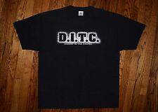 1999 DITC vintage 90s rap tour big L Lord Finesse Show&AG Big Pun T-shirt XL