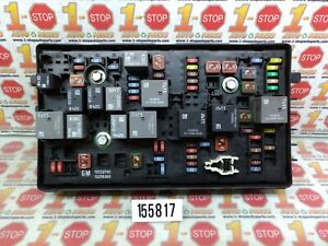 2013 2014 CHEVROLET CRUZE UNDER THE HOOD ENGINE FUSE RELAY BOX 95942232 OEM
