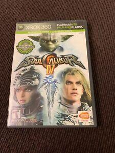 Soul Calibur IV [4] - Platinum Hits (Microsoft Xbox 360, 2008) Complete