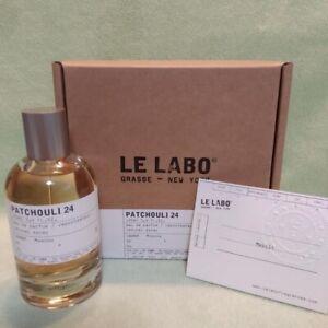 Le Labo Patchouli 24 Eau De Perfume 3.4 fl.oz / 100 ml Unisex Fragrance New Box