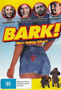 Bark DVD 2002 Lisa Kudrow Dramatic Comedy Movie Vincent D'Onofrio - BRAND NEW