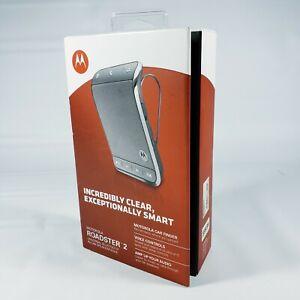 Motorola Roadster 2 Universal Bluetooth In-car Speakerphone Open Box