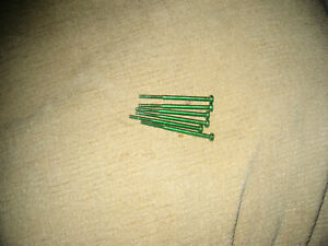 Microsoft Xbox ONE S long green screws (six)