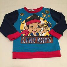 DISNEY blue Jake and the neverland pirates feece lined jumper age 3 years