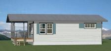 30x20 House -- 2 Bedroom 1 Bath -- 600 sq ft -- PDF Floor Plan -- Model 2