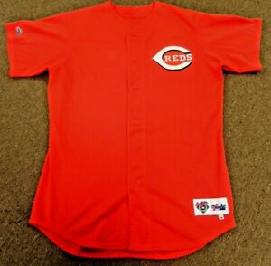 2000 Cincinnati REDS Game Worn Used Jersey