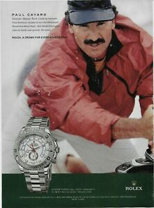 2008 Rolex Yacht-Master II White Gold Paul Cayard Boat Race Original Print Ad