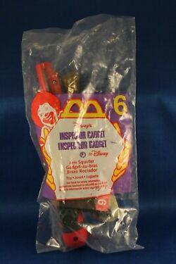 Vintage McDonalds Toy Giveaway Inspector Gadget Arm Squrter 6 NIP
